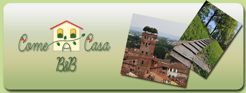 B&B Affittacamere Come a casa a Lucca in Toscana
